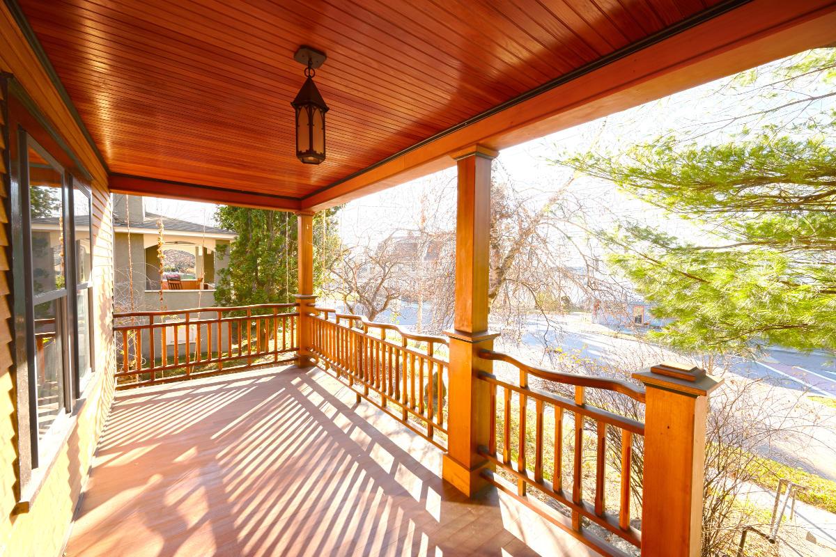 Refined Rustic Porch