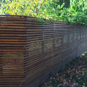 Modern Privacy Fence